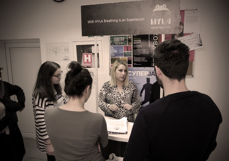"""Компанија """"Hyla"""" у сарадњи са Каријерним центром за студенте нуди запослења студентима Београдске политехнике"""