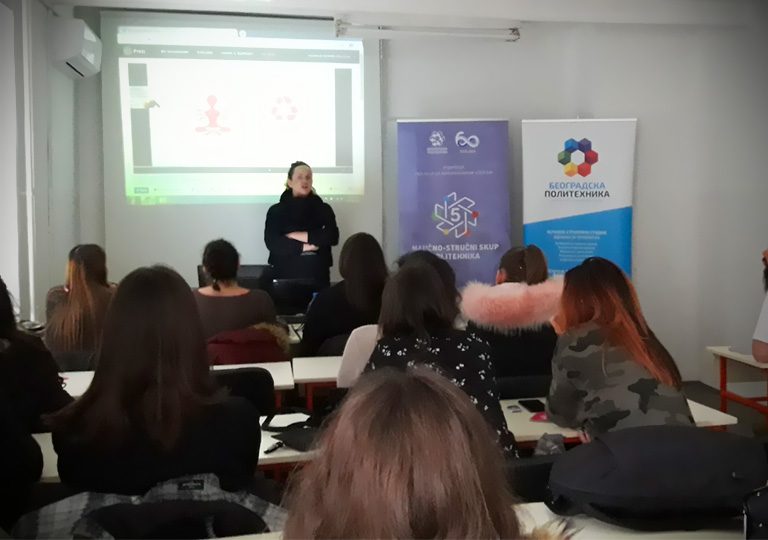 Професорка дизајна Ieva Žukauskaitė из Литваније одржала предавање на Београдској политехници